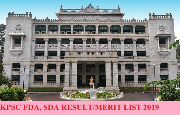 KPSC SDA FDA Result 2021 - Karnataka PSC 1112& 1279 Assistant Cut Off Marks Merit List 2021 Available Here 1