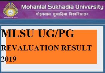 MLSU UG Revaluation Result 2019 Ist, 2nd, 3rd Year - MLSU BA BSC BCOM Rechecking/Retotaling Results Marks 2019 1