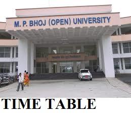MP Bhoj University Exam Schedule 2019-20 - Bhoj University 1/2/3 Year BA BSC BCOM MA Datesheet 2020 1