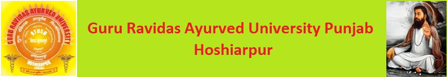 GRAU Punjab Time Table 2020-21 BHMS BUMS BAMS MD (HOM) MD (Ayurveda) Date Sheet 1
