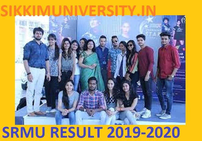 SRMU Ist/2nd/3rd Year Result 2021 - Shri Ramswaroop Memorial University Results 2021 BA BSC BCOM 1