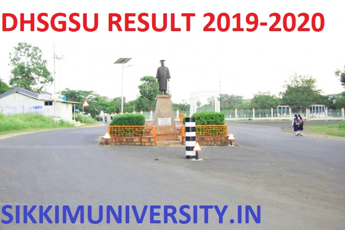 DHSGSU Ist/2nd/3rd Year Results 2020 - Download Sagar University BA BSC BCOM Part I, II, III Result 2020 1