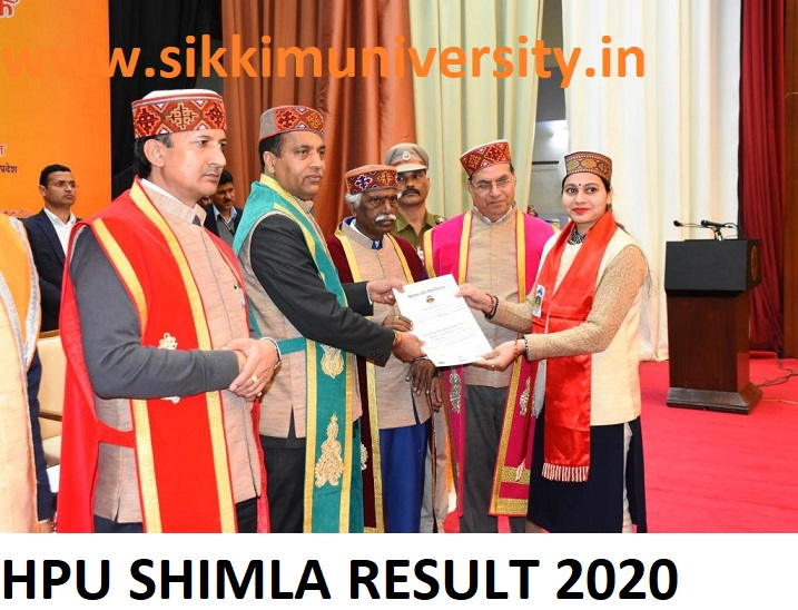 HPU RUSA LOGIN Results 2021 UG/PG Sem 1/2/3/4/5/6 - Hpu Shimla BCOM BSC BA MA Results 2021 Sem. Wise/Name Wise 1