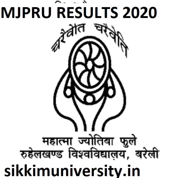 MJPRU Results 2020 BA BSC BCOM B.Ed Ist 2nd 3rd 4th 5th 6th Sem Results at Mjpru.ac.in 1