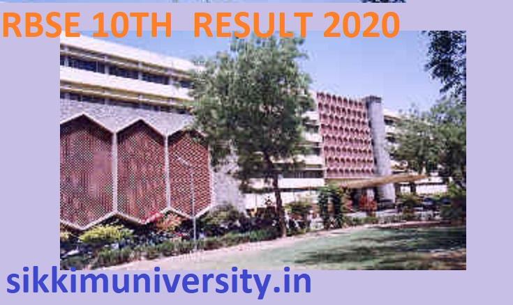 RBSE 10 Board Result 2020 - Rajasthan 10 वीं बोर्ड रिजल्ट  2020 1