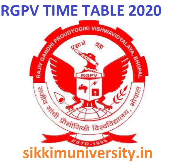 RGPV Diploma Exam Schedule/Time Table 2021 Check Ist/ 2nd/ 3rd/ 4th/ 5th/ 6th Sem (Even/Odd) Exam Date 1