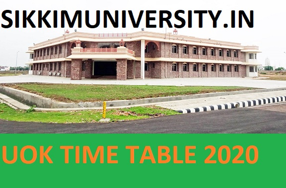 UOK Date Sheet 2021 - Kota University Part I, II, III BA BCOM BSC Time Table Exam Schedule 2021 1