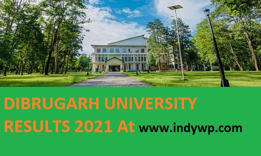 Dibrugarh University Results 2021 Part Ist, 2nd, 3rd Year BSC, BA, BCOM, MA, MCOM, MSC 1