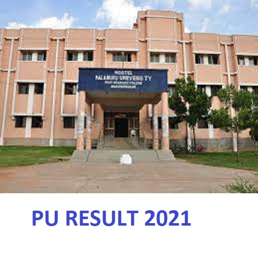 Palamuru University Degree Results 2021 - PU UG & PG 1/2/3/4/5/6 Sem Results Date 1