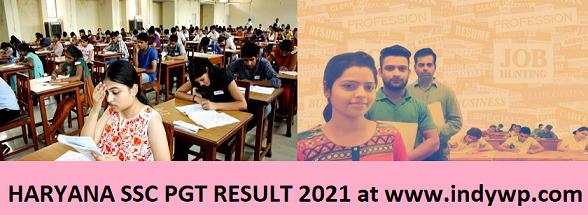 HSSC PGT/Jr Lecturer Results 2021 - HSSC 3864 पीजीटी रिजल्ट 2021 Date Interview Merit List Cut Off 1