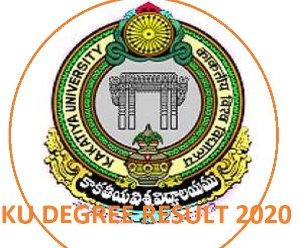KU Degree UG/PG Results 2020  (Released) - KU Degree Sem 1/3/5 Nov/Dec Result 2019-20 Exam Kakatiya University 1