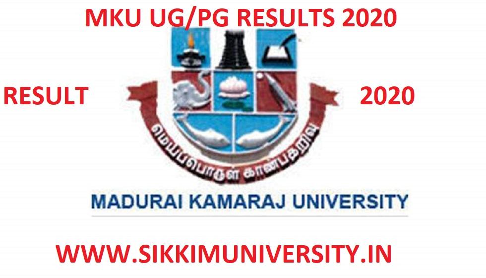 MKU April/May Results 2020 B.Tech B.Ed BA BSC BCOM 2/4/6 Sem Exams 1