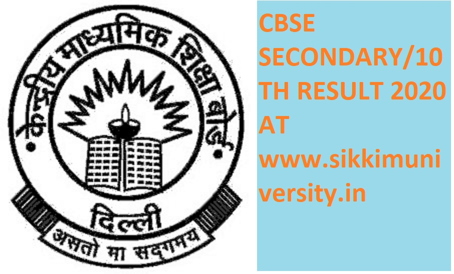 CBSE Xth Result 2020 Name Wise- Central Board Class 10th Result- सीबीएसई  Secondary Exam marks 2020 Roll Number Wise 1