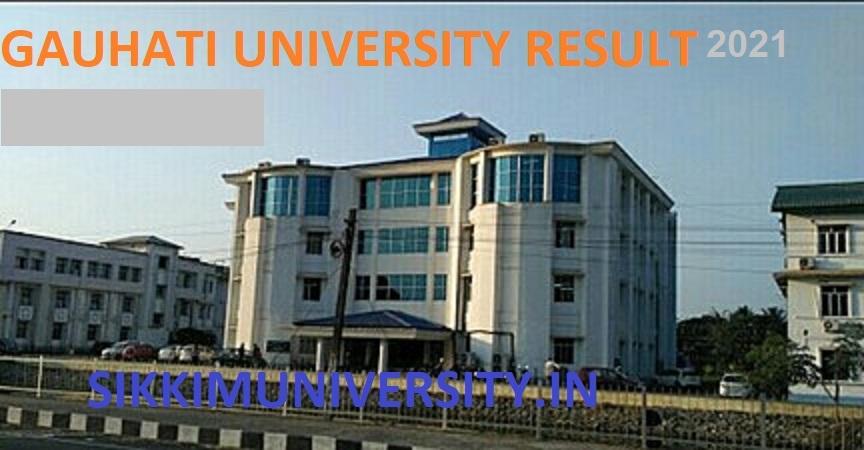 Gauhati University Odd Sem.Nov./Dec Results 2021- GU TDC 1, 3, 5 Sem Results at Gauhati.ac.in 1