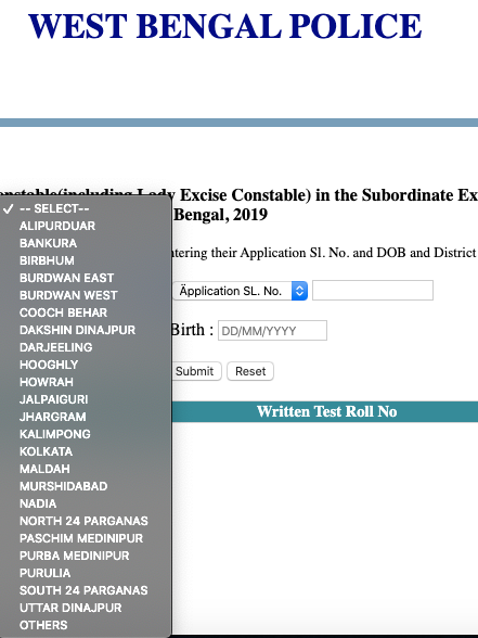 Steps To Download West Bengal Police Excise Constable Result 2020