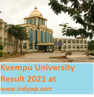 Kuvempu University Results 2021 BSC B.Ed BA BCOM MA 1/2/3/4/5/6 Sem Results at kuvempu.ac.in 1