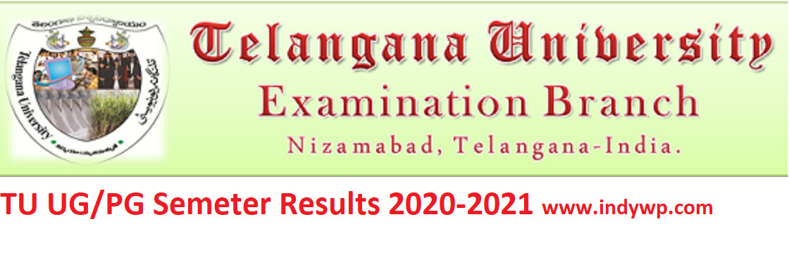 TU Degree Ist/ 3rd, 5th Sem. Results September 2021 - Telangana University UG BBA BSC BA BCOM Results Sept. 2021 1