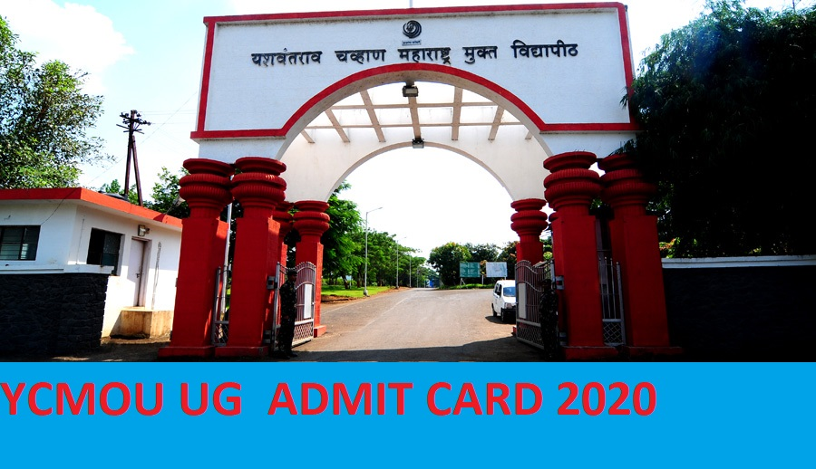 YCMOU Hall Ticket 2020 FY SY TY BSC BA BCOM Exam - YCMOU UG 1, 2, 3 Year Admit Card 2020 1