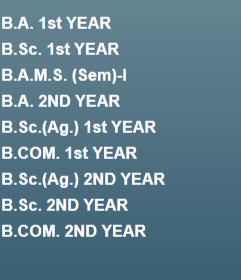 ba bsc result 2020 UG PG jncu.in