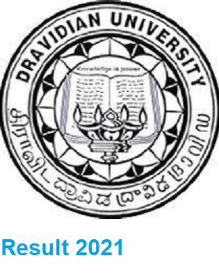 Dravidian University DDE Nov/Dec Result 2021 Part I, II, III year UG& PG Exam 1