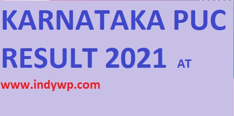 Karnataka PUC 2nd/ Ist Result 2021 Karresults.nic.in - Kar 1st and 2nd PUC Result Date 2021 Merit toppers lists 1