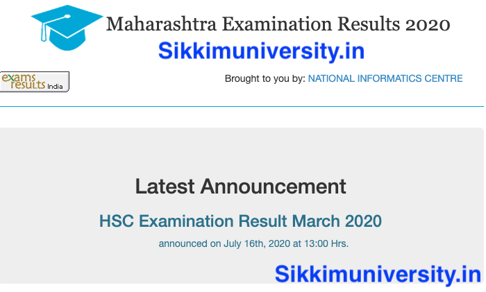 MAH HSC 12th result 2020 JULY OUT ONLINE