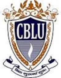 CBLU  B.Ed Ist 2nd Year Time Table /Date Sheet 2020 - Download Cblu.ac.in B.Ed Exam Schedule Admit Card 2020 1