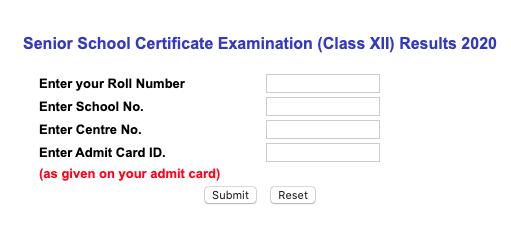 cbse 12th class result 2020cbse 12th class result 2020