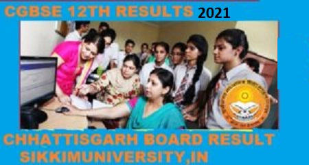 CGBSE 12 All Stream Result 2021 Chhatishgarh Board +2 Results Name Wise 1