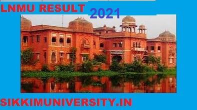 LNMU Result 2021, LN Mithila University part 1/2/3 Year BA BSC BCOM MA Result 1