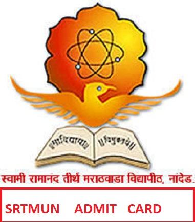 SRTMUN UG/PG Exam Hall Ticket 2021 (Released) - @Srtmun.ac.in Exam Admit Card 2021 (Summer/Winter) 1