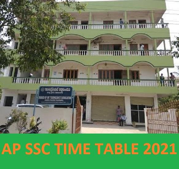 AP SSC Time Table 2021 Exam Date - @Bseap.org AP Board 10th Date Sheet 2021 PDF 1