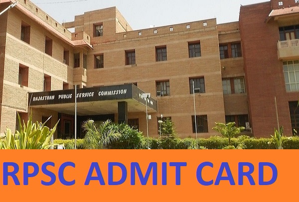 RPSC Lecturer of College Admit Card 2020-21- Rpsc.rajasthan.gov.in RPSC Asst Prof. Exam Date And Hall Ticket 2021 1