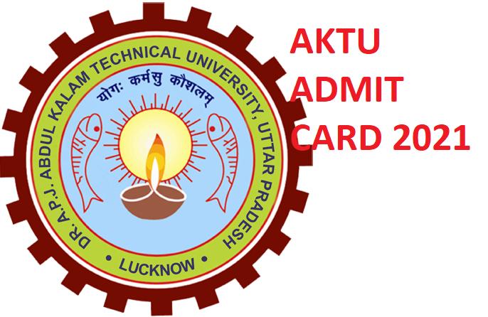 AKTU UG/PG Admit Card 2021 - Download AKTU Hall Ticket 2021 @Upsee.nic.in 1