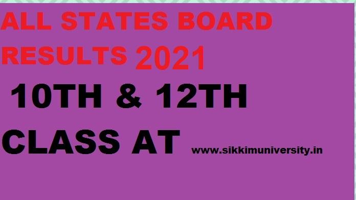 10वी एंड 12बी बोर्ड परीक्षा 2021 के परिणाम /नतीजे - ऑल राज्यों के रिजल्ट्स यहाँ से देखें 1