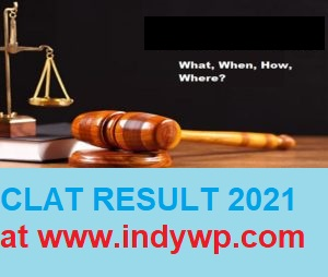 CLAT Results/Cutoff Marks 2021, Common Law Admission Test Rank Card/Merit List 2021 1