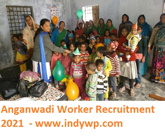 UP ICDS 2041 Anganwadi Worker/ सहायक Bharti 2021- UPICDS Anganwadi Worker, Mini Anganwadi Worker, and Assistant Recruitment 2021 3