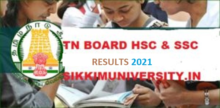 TN BOARD RESULT 2021: 11th, 12(HSC) & 10TH (SSC), Www.tnresults.nic.in 1