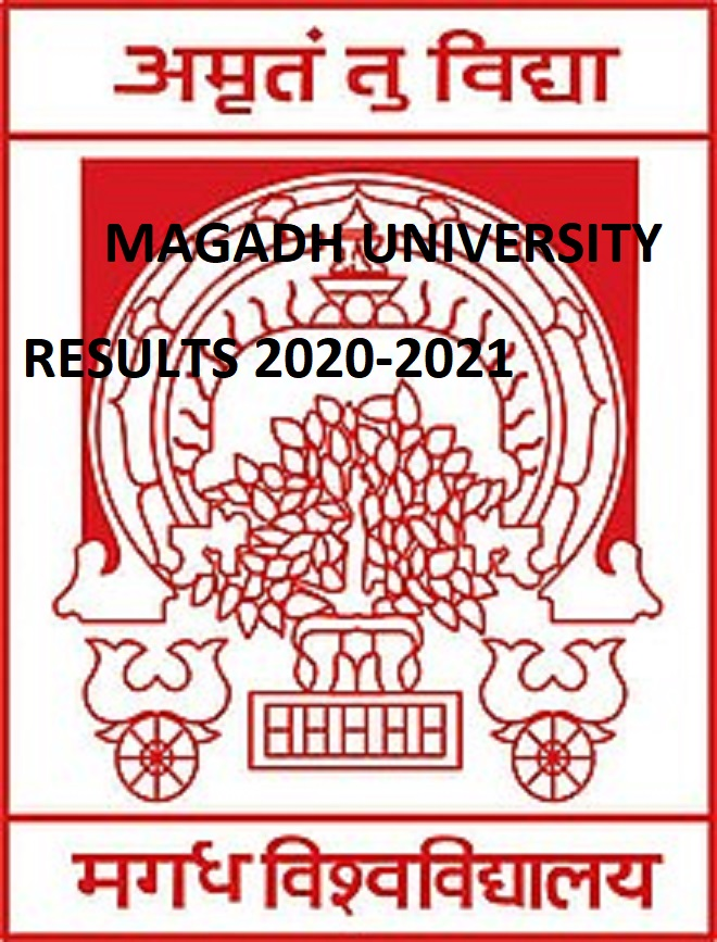 Magadh University BA Results 2021 - Download Magadh University BA BSC BCOM B.Ed Part I, II, III Results 2021 1