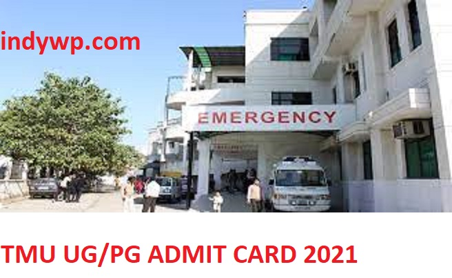TMU UG/PG Hall Ticket 2021- Check Teerthanker Mahaveer University Admit Card @Tmu.ac.in 1