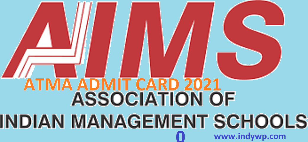 ATMA May Exam 2021 Admit Card (OUT) Download @atmaaims.com 1