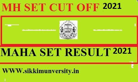 MH SET Cut Off, Merit List, Result 2021: Maharashtra SET Result Download @setexam.unipune.ac.in 1