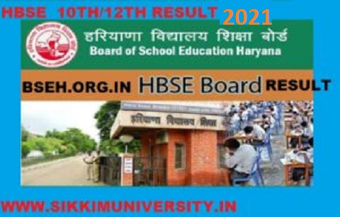 Haryana Board 10 & 12 Results 2021 Roll Number Wise/ Name Wise at bseh.org.in 1