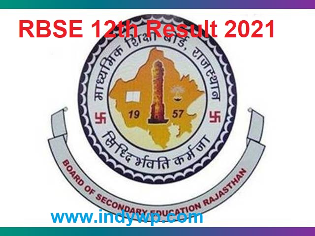 Rajasthan Board 12th Results 2021 - BSER Sr. Secondary Results 2021 - RBSE Class 12th Arts/Scs./Com. Results 2021 3