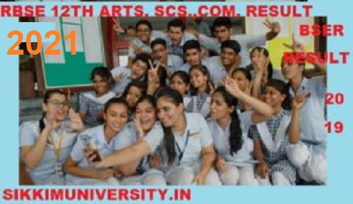 Rajasthan Board All Streams (Art/Com/Scs) Results 2021, RBSE Vocational Results 2021 @rajresults.nic.in 1